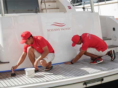 Boat Repair Dubai | Yacht Service Dubai - Xclusive Marine