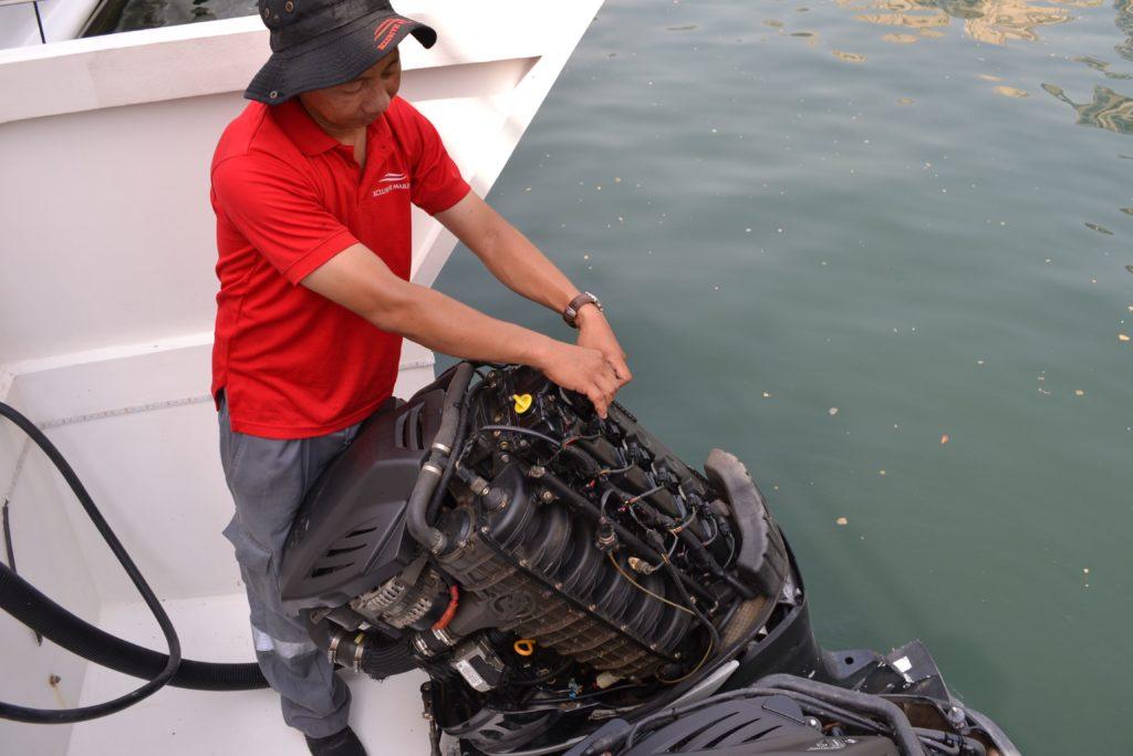 Engine Service Dubai - Boat Engine Repair Dubai - Xclusive Marine
